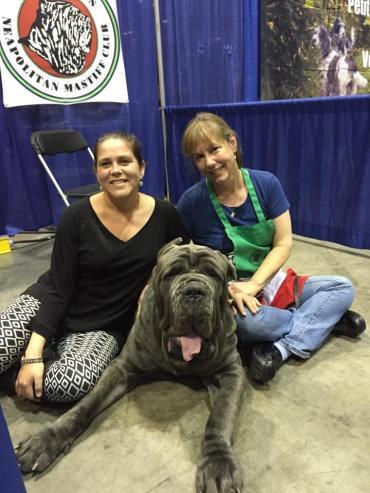 At the Meet the Breed booth at Eukanuba in Orlando